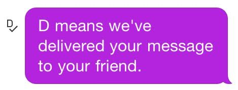 BETH: On kik what does the s mean